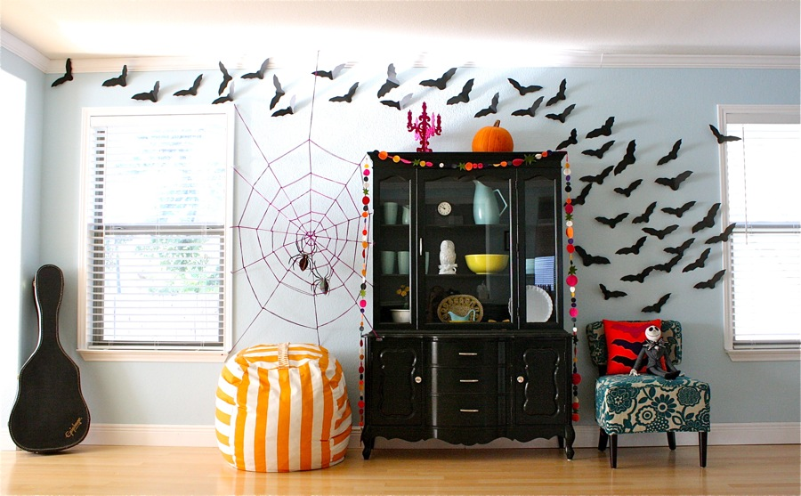 the coolest homemade halloween decorations